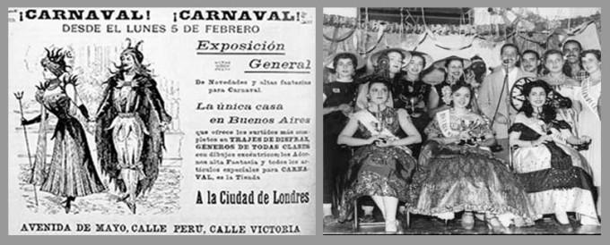 carnaval disfraces y reinas