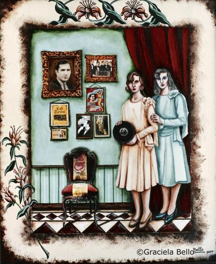 G Bello Las coleccionistas_ serie Gardel